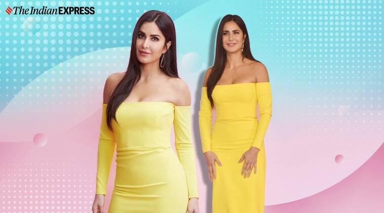 Katrina Kaif is a ray of sunshine in this yellow off ...