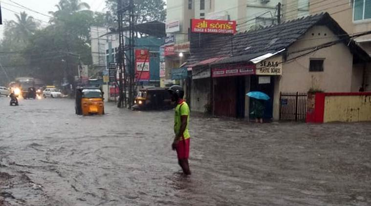 Kerala records 'excess' rainfall in October so far, red alert in five districts on Tuesday