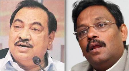Maharashtra Assembly polls: BJP drops Khadse, fields his daughter; Tawde also ignored