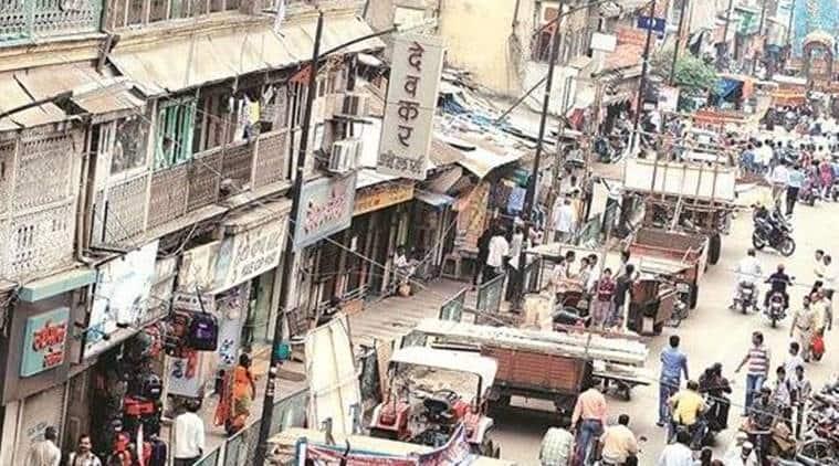 Pune news, Laxmi Road, Pune traffic jam, Laxmi Road Pune