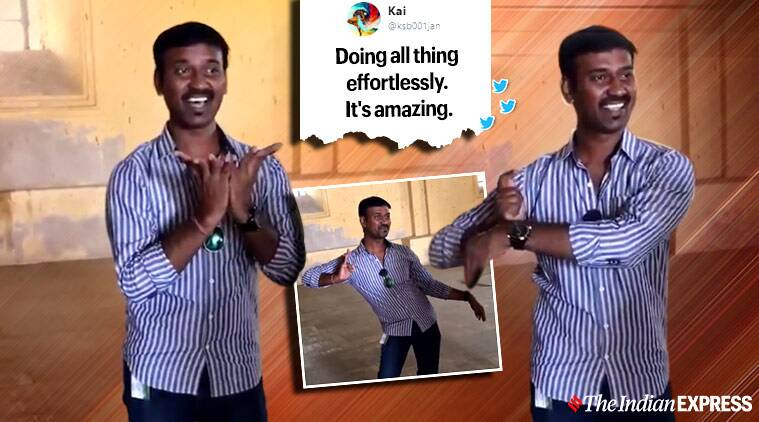 Travel guide wows tourists with classical dance mudras, video goes viral