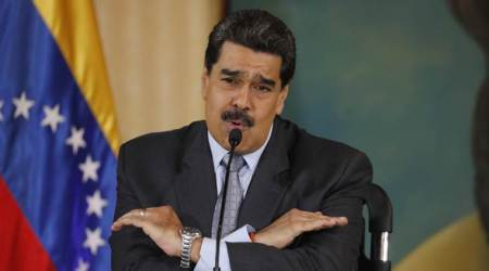 Maduro airs video of American detained in Venezuela plot