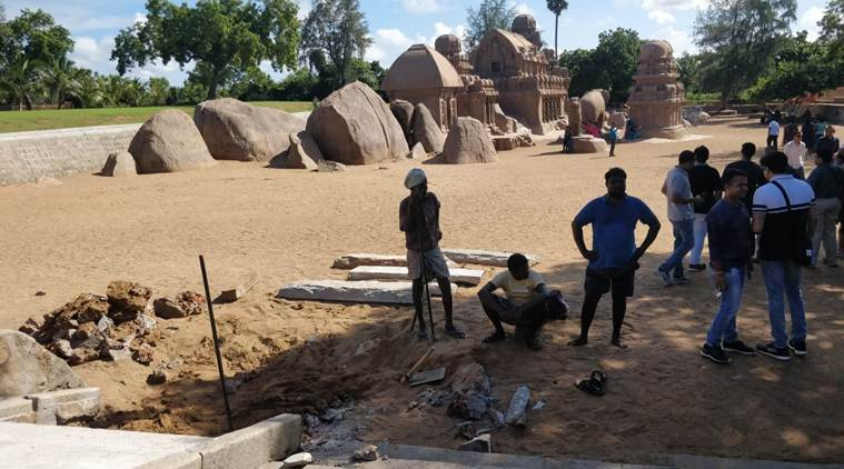 Ancient port town of Mamallapuram gets set for India-China informal meet