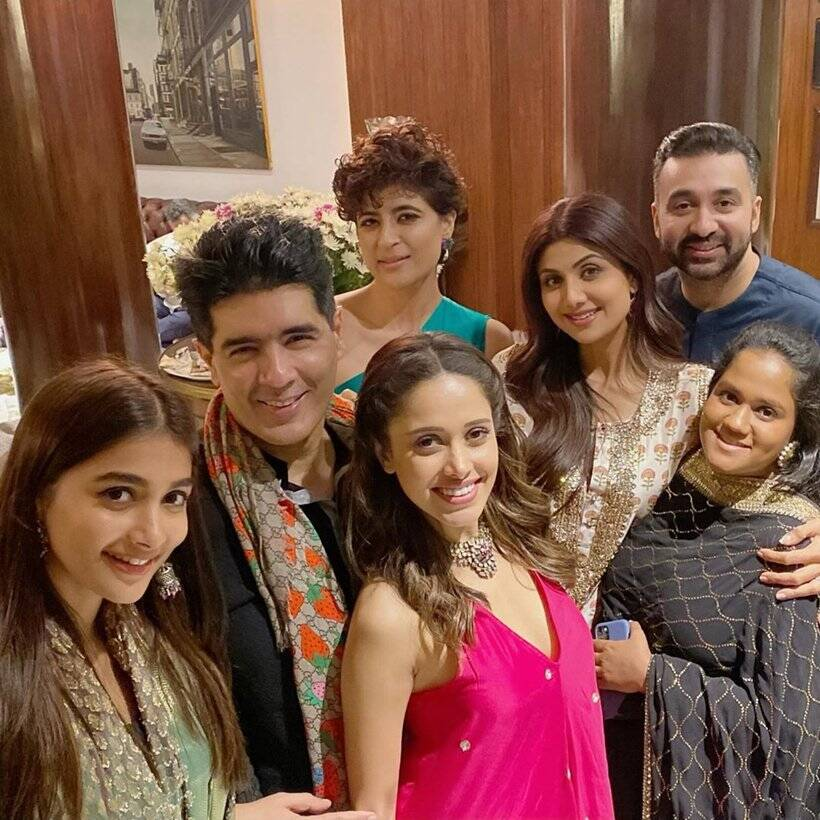 Image result for Indian Express manish malhotra party
