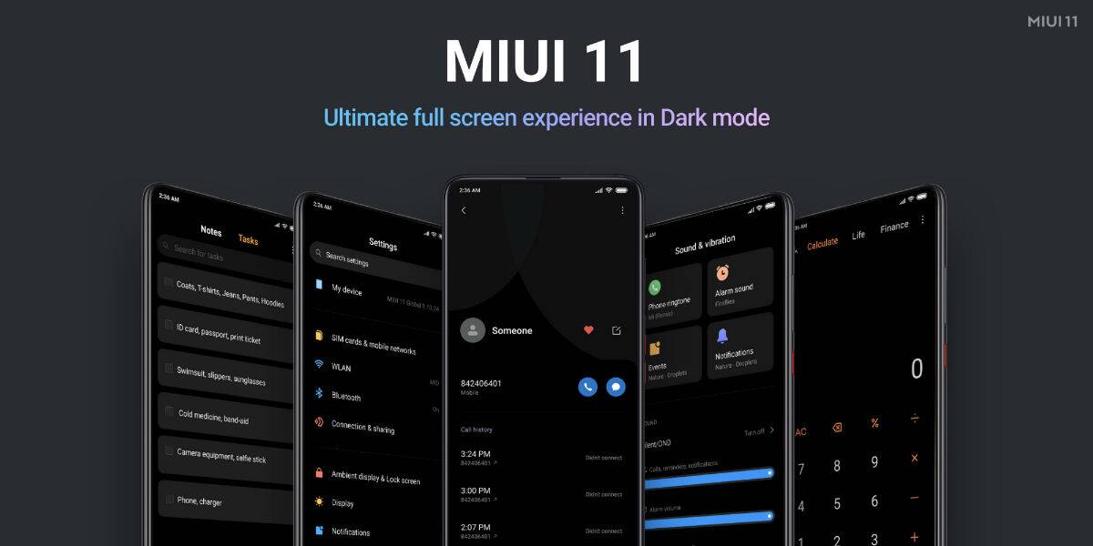 MIUI 11 Release date in India, Features List: Timeline of rollout to Xiaomi  phones