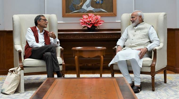 PM Modi meets Nobel laureate Abhijit Banerjee, says 'India is proud of his accomplishments'