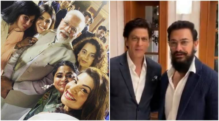 SRK, Aamir and other B-town stars meet PM Modi to mark 150 years of Mahatma Gandhi