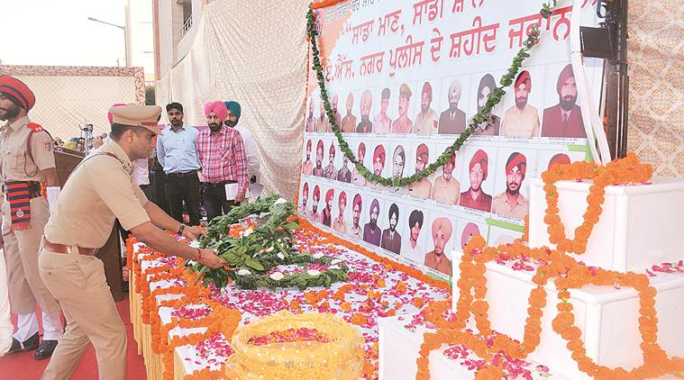 Mohali police honour officers who died in line of duty