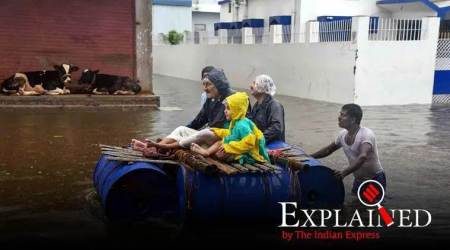 India Monsoon, India Monsoon rains, India floods news, Moonson in India end date, imd, el nino effect in india Express Explained