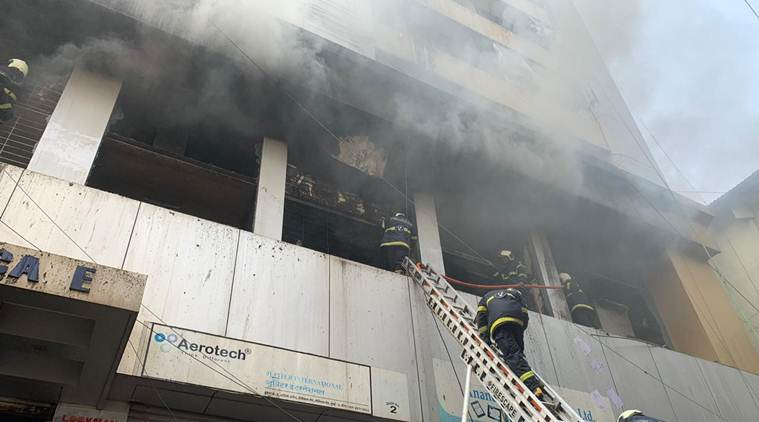 Mumbai: Fire breaks out at Aditya Arcade; no casualty, 9 rescued