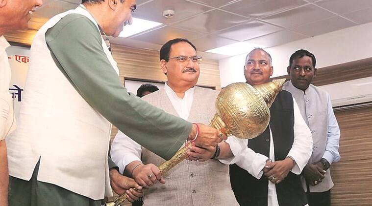 Chandigarh: BJP factionalism comes to fore at Nadda event