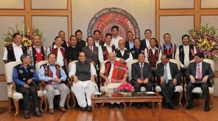 Naga peace talks, NSCN-IM, Naga constitution, nagaland peace accord, narendra modi, naga insurgent group, India Nagas, Nagas in India, Northeast news, Indian Express news
