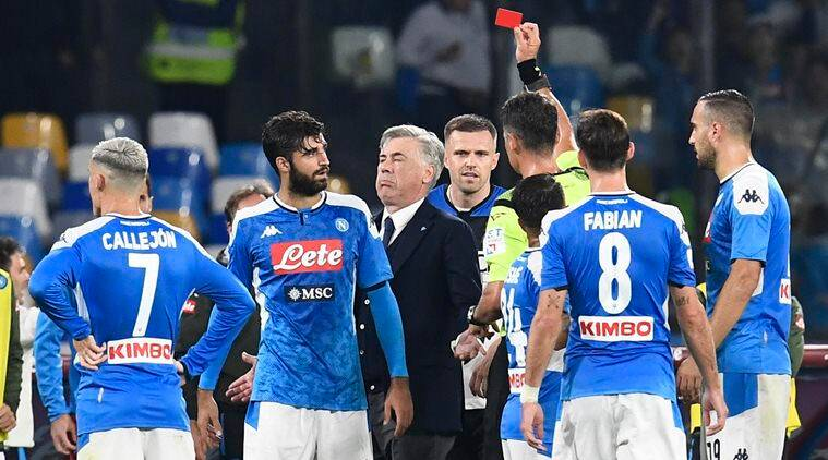 VAR causes more arguments: Five things learned from Napoli ...  |Napoli- Atalanta