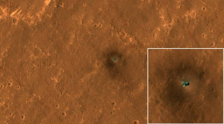 nasa, insight, curiosity, hirise camera, nasa insight picture, nasa new insight picture taken from hirise camera