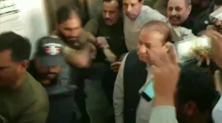 Nawaz Sharif arrested in pakistan Chaudhry Sugar Mills money laundering case