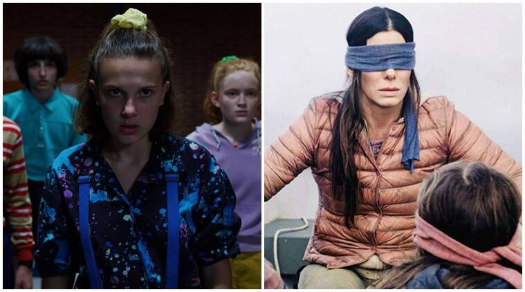 Stranger Things and Bird Box