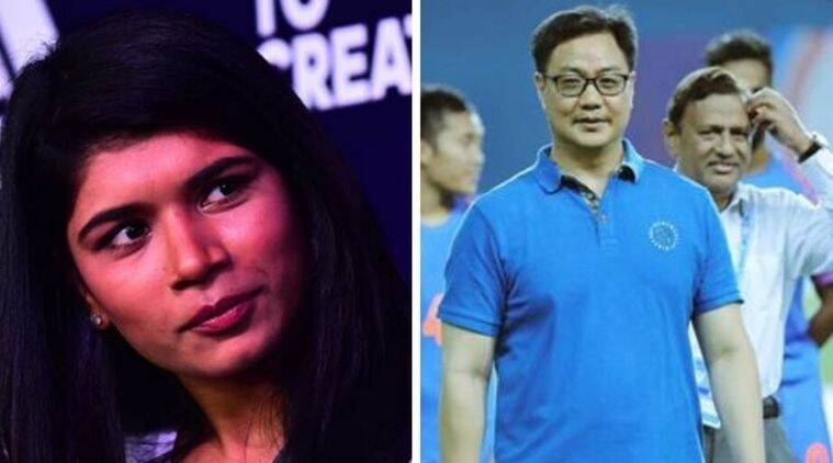 Nikhat Zareen, boxer Nikhat Zareen, Kiren Rijiju on Nikhat Zareen's demand, Nikhat Zareen bout with Mary Kom, MC Mary Kom vs Nikhat Zareen