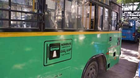 Nimbus, Nimbus Bengaluru, nimma bus bengaluru, bus priority lanes, Marathahalli, bengaluru dedicated bus lanes, BMTC latest news, BBMP news, DULT, Bangalore traffic police, Bengaluru City Traffic police, Bangalore traffic