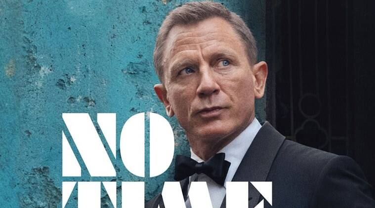 No time to die first poster daniel craig 007