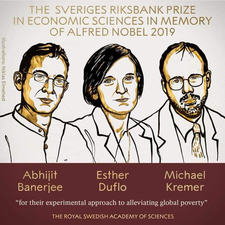 nobel prize, nobel prize for economics, Abhijit Banerjee, Esther Duflo and Michael Kremer, nobel prize economics winner, nobel