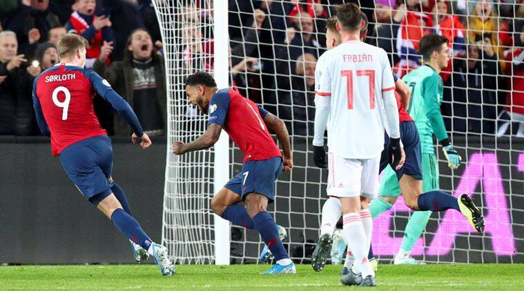 Uefa euro 202 qualifier norway end spain record italy qualify
