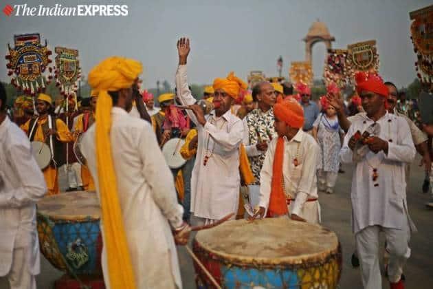 Phool Walon Ki Sair, Delhi Phool Walon Ki Sair, Phool Walon Ki Sair festival, phool walon ki sair photos, Phool Walon Ki Sair delhi, Phool Walon Ki Sair fest, Delhi news, indian express