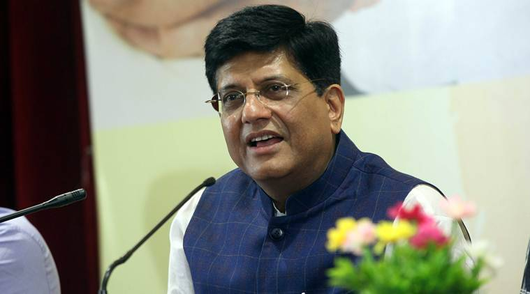 Piyush Goyal on Abhijit Banerjee, Piyush Goyal in Pune, Piyush Goyal on Manmohan Singh, India news, Indian express