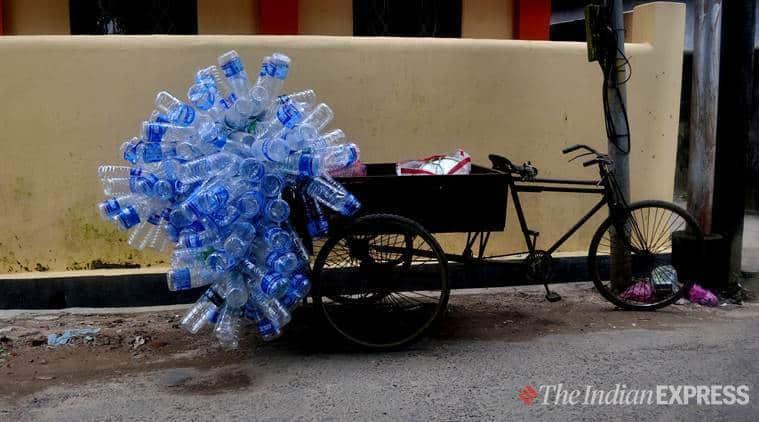 chandigarh news, single-use plastic ban, plastic-mukt chandigarh, v p singh badnore, indian express