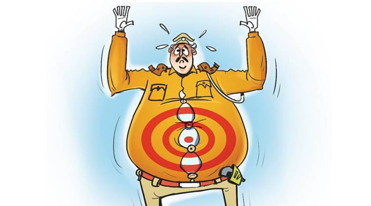 A weighty order goes out in Bikaner: Policemen have to measure, turn in their waist size by Nov 1