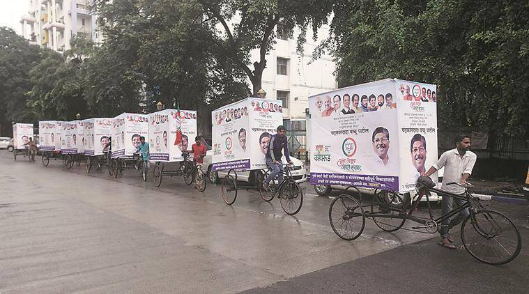 Pune: Relentless downpour dampens last day of campaign