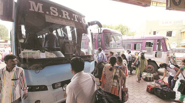 Coronavirus pandemic, MSRTC workers, Mumbai news, Maharashtra news, Indian express news