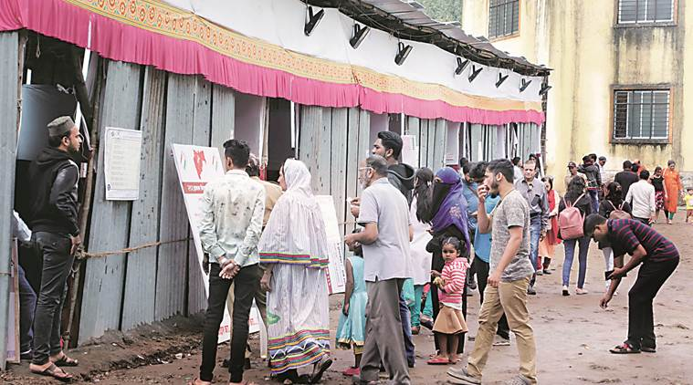 Pune: Turnout falls in 10 seats in urban areas, Pimpri only exception