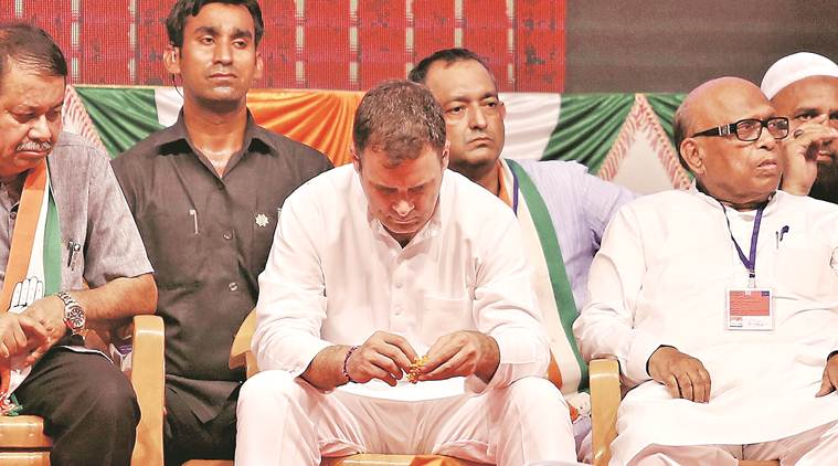 Rahul Gandhi, Rahul Gandhi on PM Modi, Rahul Gandhi in Mumbai, Rahul Gandhi Moon comment, India news, Indian Express