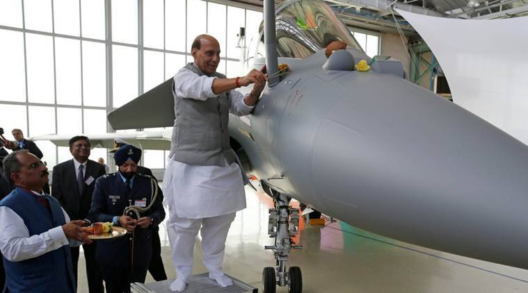 Rafale delivery: Congress, BJP trade barbs over Rajnath's France ...