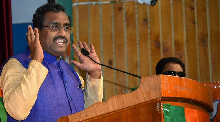 ram madhav, ram madhav on sending people to jail, ram madhav on article 370, J&K news, kashmir shutdown