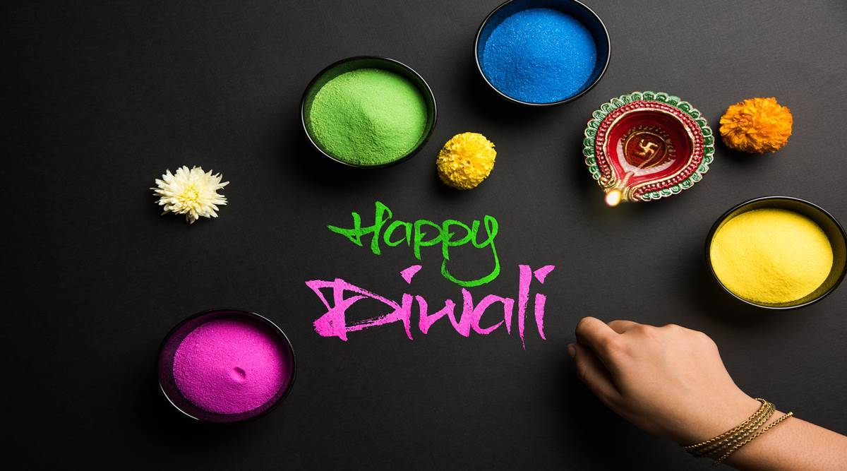 Rangoli Designs For Diwali 2019 Images Simple Easy Latest New Rangoli Design For Diwali Images Photos Video Pics And Pictures,Green Plain Saree With Designer Blouse Images