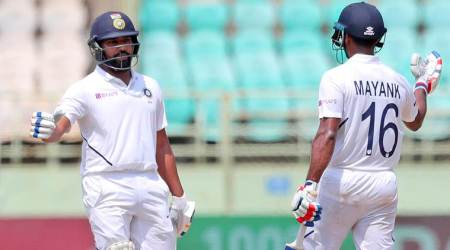 Rohit Sharma, Mayank Agarwal, Highest opening partnership Test vs South Africa, Virender Sehwag, Gautam Gambhir, Test records, India Test records, India vs South Africa first Test, IND vs SA 1st Test, Vizag Test, cricket news