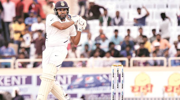 Rohit Sharma, India vs South Africa, Rohit Sharma test stats, Ranchi test match, LIVE Scores, Sports News, Cricket News, Indian Express