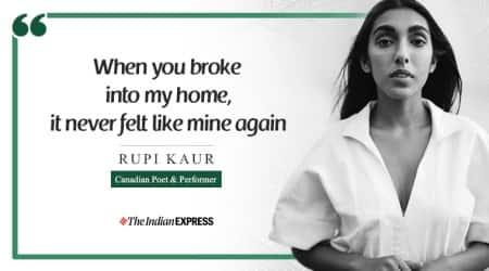 Rupi Kaur, poetry, narrative, Life Positive, Indian Express, Indian Express news