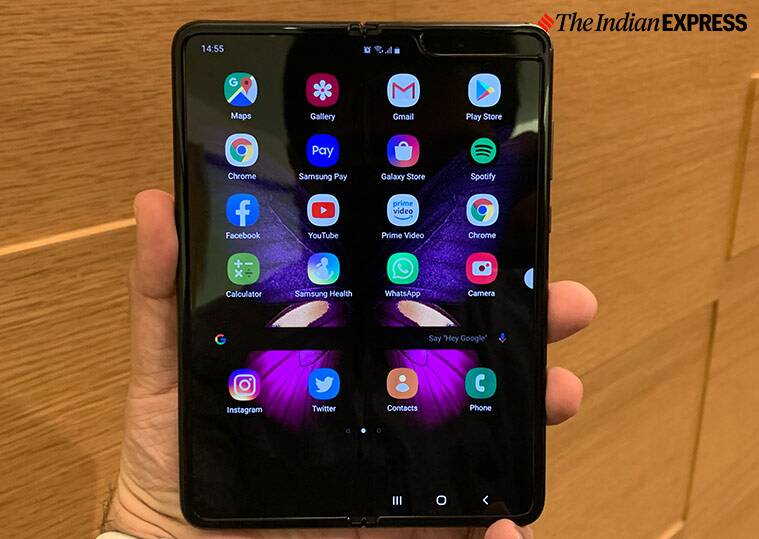 Samsung Galaxy Fold first impressions, Samsung Galaxy Fold, Samsung Galaxy Fold launched in India, Samsung Galaxy Fold price, Samsung, Samsung Galaxy Fold specs, Samsung Galaxy Fold specifications