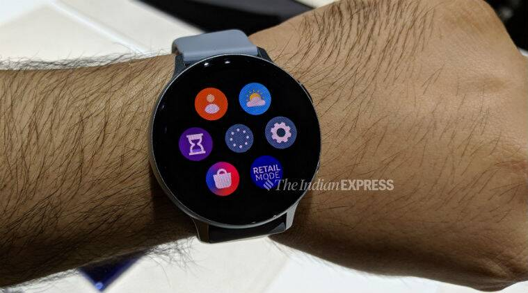 The Galaxy Watch Active 2 has a slimmer design and no rotating bezel on top