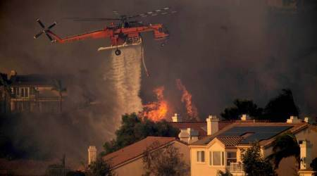 California wildfires: Utility says power lines may have started two fires