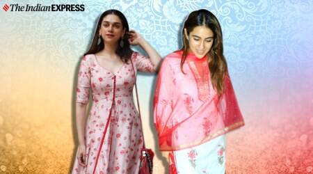 Aditi Rao Hydari, Sara Ali Khan, ethnics sara ali khan, Aditi Rao Hydari ethnic fashion, bollywood every day ethnic wear, indian express news