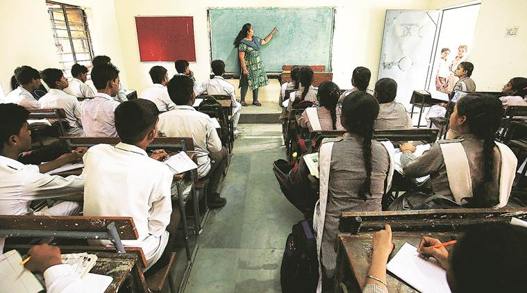 Delhi: At event to celebrate teachers, less education and more politics