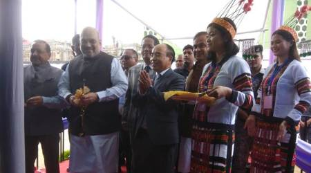 Amit Shah, Mizoram government, Mizoram development, Amit Shah on Mizoram development, Northeast news, Indian Express