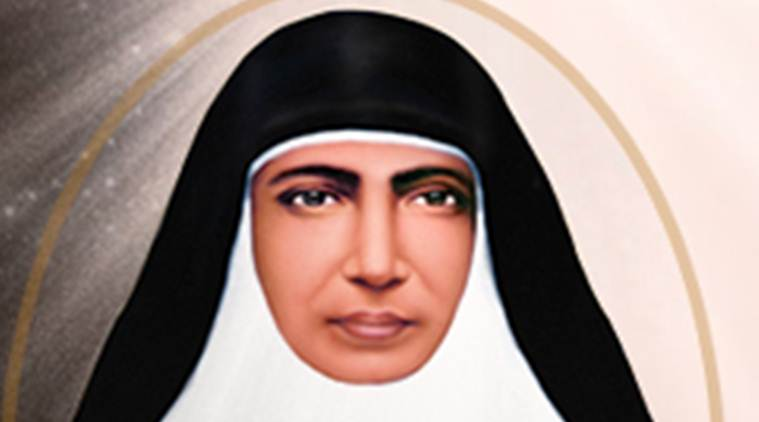 Mariam Thresia, saint Mariam Thresia, Mariam Thresia kerala, Kerala nun, Syro-Malabar church, Pope Francis, Thrissur district, Saint, Indian Express