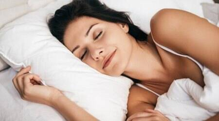 causes of menopause, menopause symptoms, indian express, sleep, health benefits of sleeping well