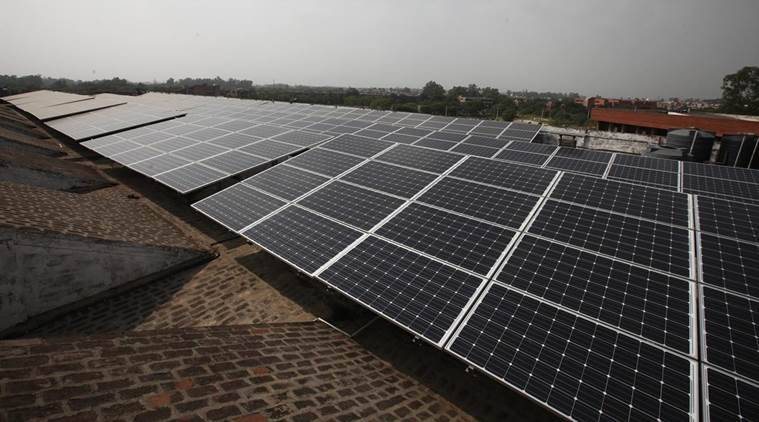 Chandigarh Renewal Energy and Science and Technology Promotion Society, Chandigarh solar lamps, Chandigarh news, Chandigarh solar lamps reimbursement, indian express, latest news