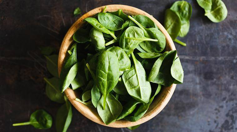 spinach, health benefits of eating spinach, spinach recipes, indian express