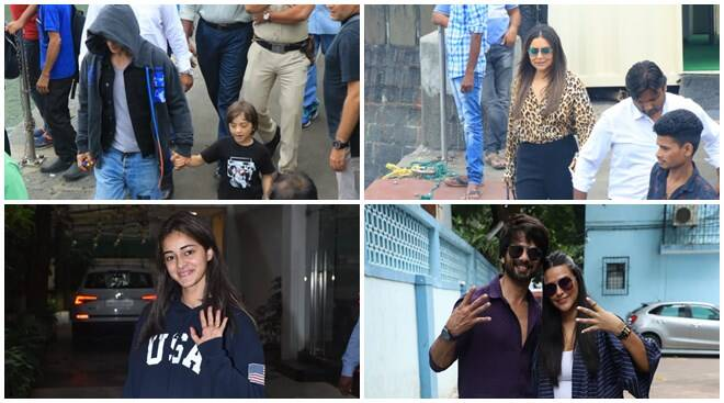 Shah Rukh Khan's family day out with Gauri-AbRam, and other celebs spotted
